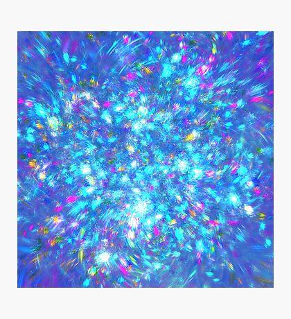 Winter #fractal art Photographic Print