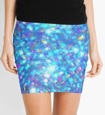 Winter #fractal art Mini Skirt