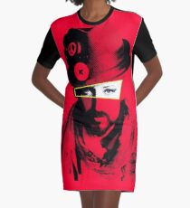 Junge George - Rot T-Shirt Kleid