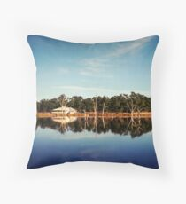 Reflections of a Queenslander Throw Pillow
