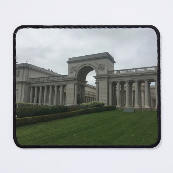 Legion of Honor Architecture   Imagery Print Mouse Pad
