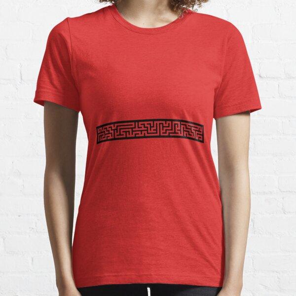 Maze 40x5 - Black Essential T-Shirt