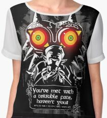 Majoras Mask - Meeting With a Terrible Fate Chiffon Top