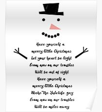 Have Yourself a Merry Little Snowman Poster