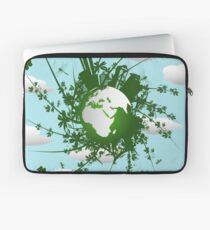 Eco friendly background Laptop Sleeve