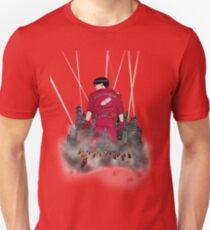 Kaneda in front neo Tokyo T-Shirt