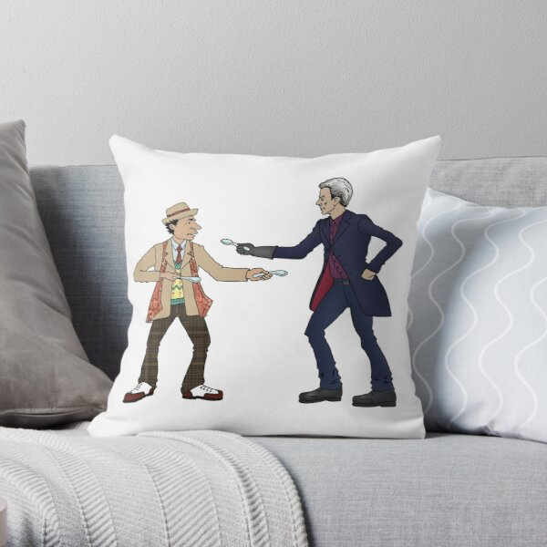 Of Spoons and Scotsmen #3 (Just Characters) Throw Pillow