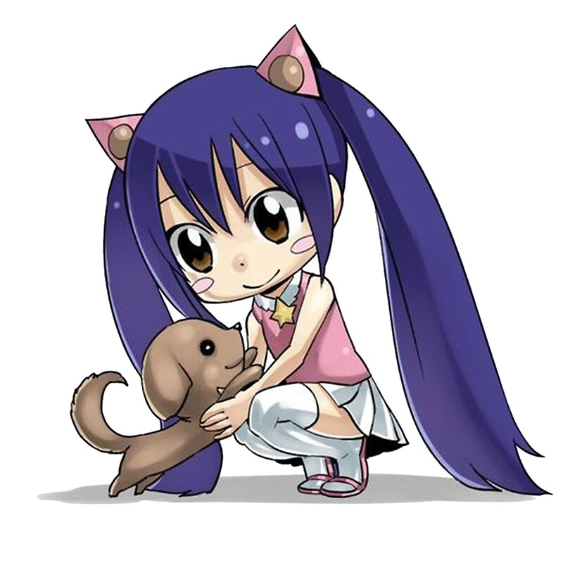 """""""Wendy chibi Fairy Tail"""" by youngtrendsette 