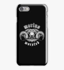 Heavy Metal Knitting - Merino - Worsted iPhone Case/Skin
