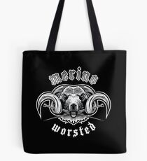 Heavy Metal Knitting - Merino - Worsted Tote Bag
