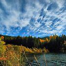 Beautiful autumn day. Wisła Czarne Fojtula by Redrose10