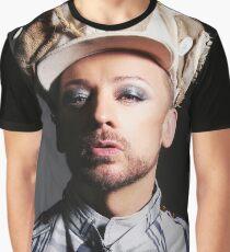 Boy George (button beret) Graphic T-Shirt