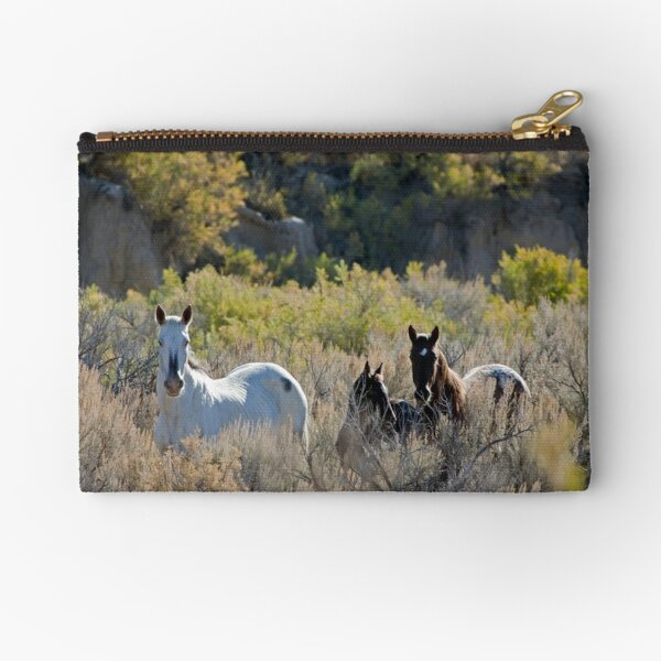 The Lame Grey Mare...  Zipper Pouch