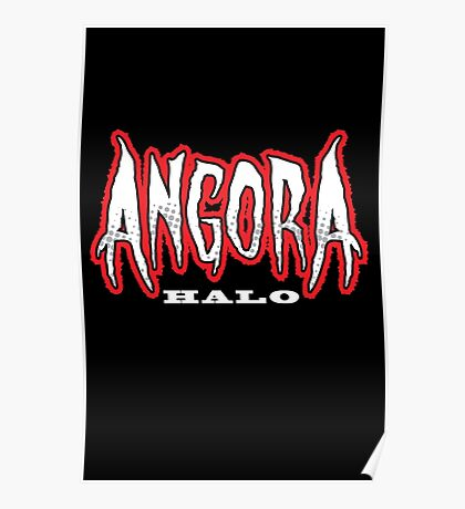 Heavy Metal Knitting - Angora - Halo Poster