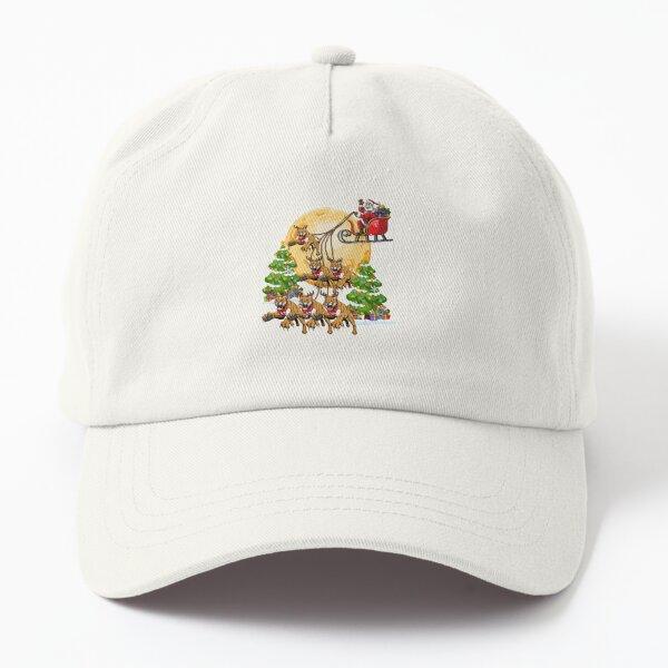 Cougar Reindeer Christmas Funny Cat Lover Xmas Dad Hat