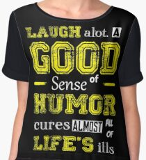 Sense Of Humor  Chiffon Top