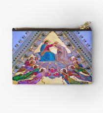 Coronation of the Virgin Zipper Pouch