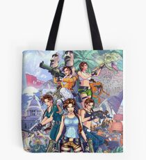 Tomb Raider III - 20 Years of Tomb Raider Tote Bag