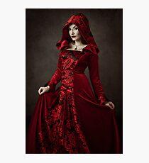 Red Woman III Photographic Print