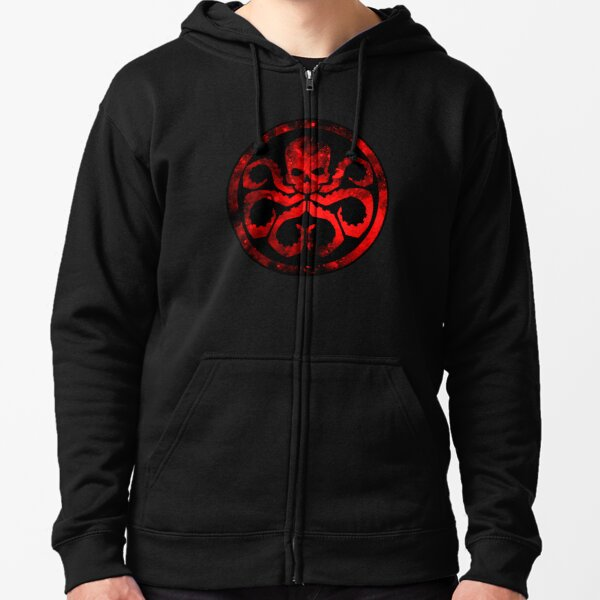 Hydra Zipped Hoodie