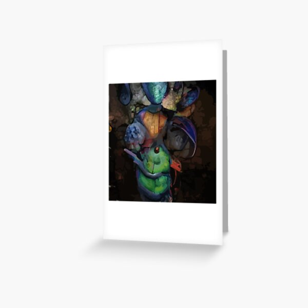 Mysterious Creature Greeting Card