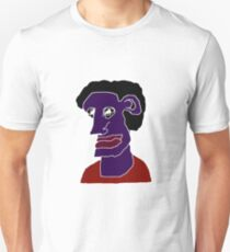 Man Portrait Caricature T-Shirt