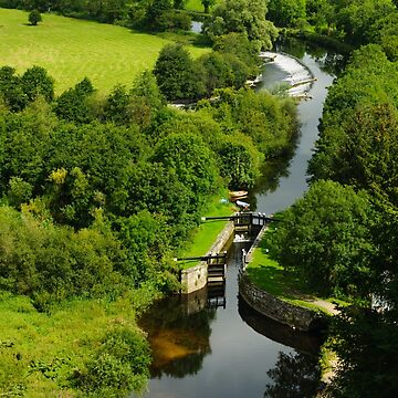 Clashganny Lock, on the River Barrow, County Carlow, Ireland by AndyJones