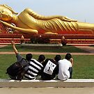 Reclining for Buddha by John Nelson