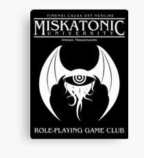 Miskatonic RPG Club Canvas Print