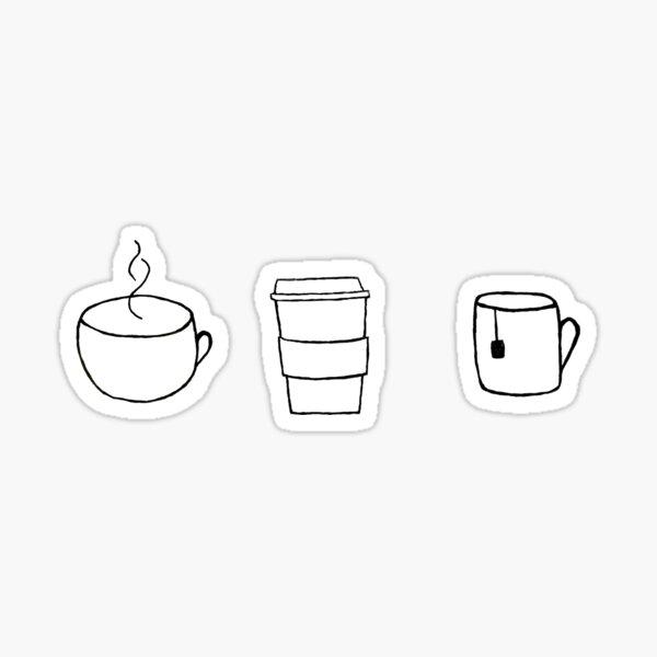 coffee, tea, cocoa Sticker