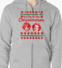 Golden Girls Christmas Zipped Hoodie