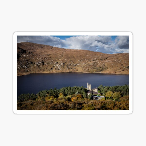 Glenveagh Castle, Donegal Sticker