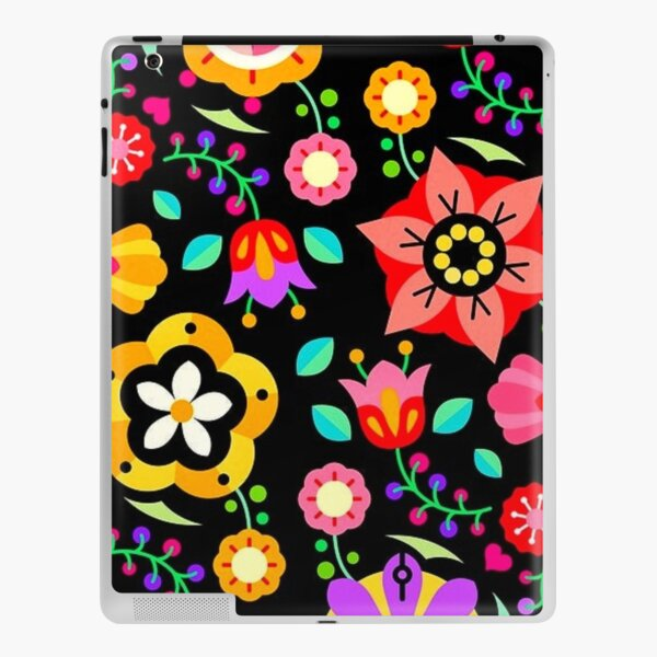 Colourful floral pattern  iPad Skin