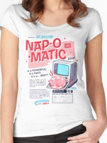 Nap-O-Matic Women's Fitted Scoop T-Shirt
