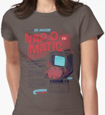 Nap-O-Matic Womens Fitted T-Shirt