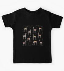 Llamas in the Meadow Kids Tee