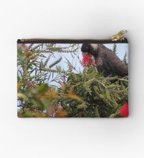 See what I mean about the black cockatoos? Studio Pouch