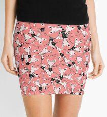 Mini flamingo pattern Mini Skirt