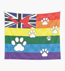 Gay Australian Pup Pride Flag Wall Tapestry