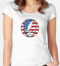 Steal your Flag Women's Fitted Scoop T-Shirt