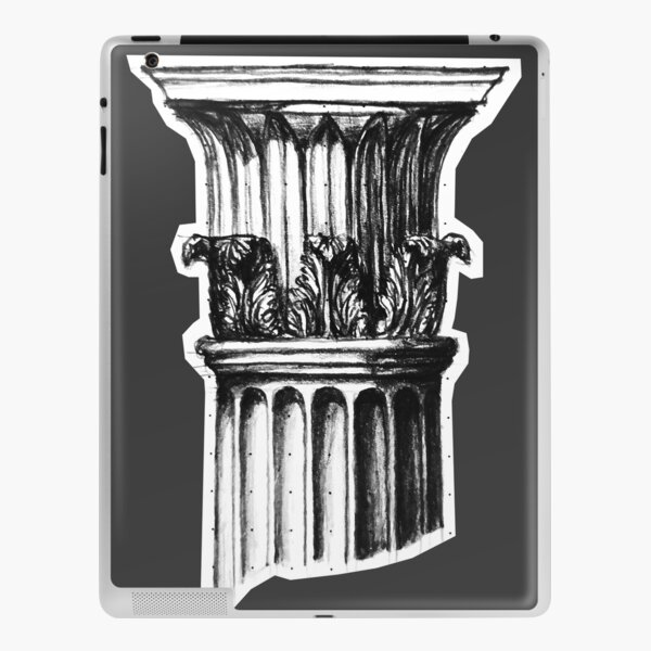 Tower of the Winds Corinthian Column Capital iPad Skin