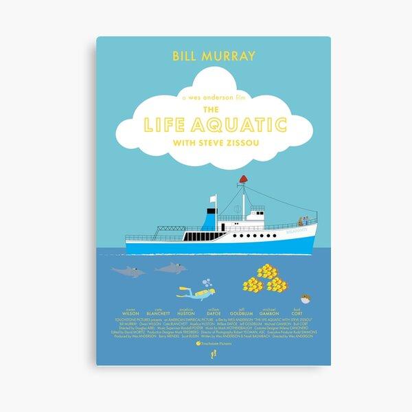 The Life Aquatic with Steve Zissou Movie Poster (alt version) Canvas Print