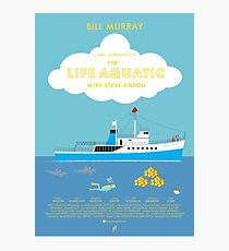 The Life Aquatic with Steve Zissou Movie Poster (alt version) Photographic Print