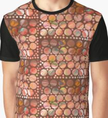 Chocolate Dots Graphic T-Shirt