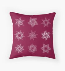 Stars frame models Throw Pillow