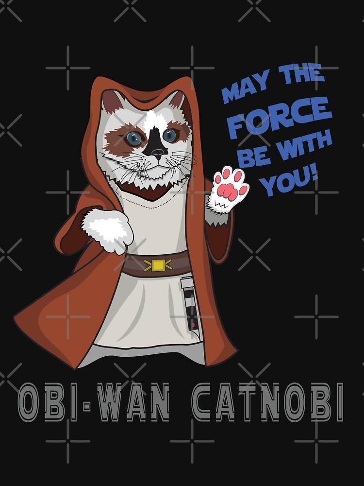 OBI-WAN CATNOBI by hasztagwear