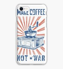 COFFEE GRINGER iPhone Case/Skin
