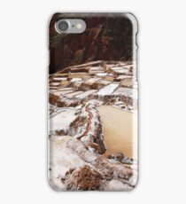 Salineras, Maras - Peru iPhone Case/Skin