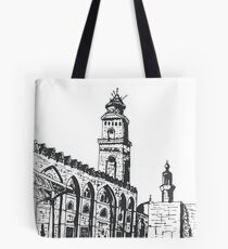 Cairo Urban Sketch Tote Bag