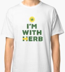 """I'm With Herb"" - Hillary Clinton Cannabis Classic T-Shirt"